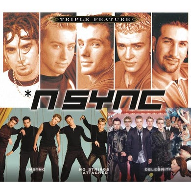 Triple Feature: '*NSYNC CD