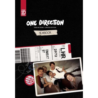One Direction Take Me Home [Deluxe Yearbook Edition] CD