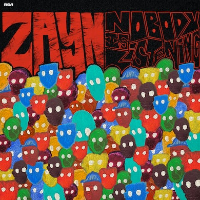 Zayn Nobody Is Listening (Edited) CD