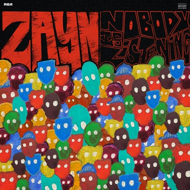 Zayn Nobody Is Listening CD
