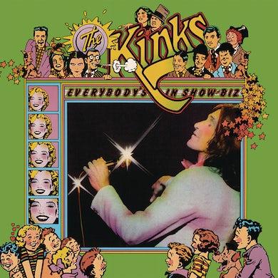 The Kinks Everybody's In Show-Biz Vinyl Record