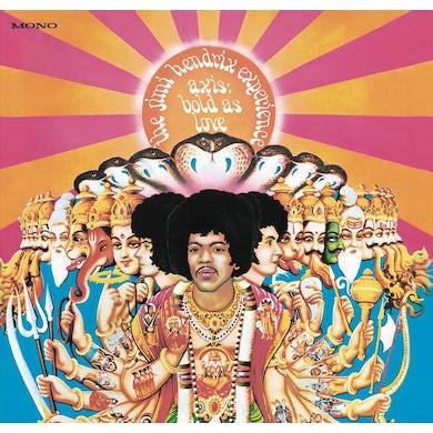 Jimi Hendrix Experience Axis: Bold As Love (Mono) Vinyl Record