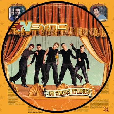 *NSYNC No Strings Attached (Picture Vinyl) Vinyl Record
