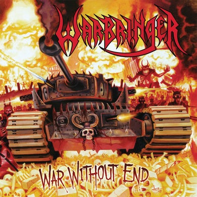 WAR WITHOUT END (RE-ISSUE 2018) (TRANSLUCENT YELLOW LP/CD/POSTER) Vinyl Record