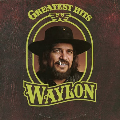 Waylon Jennings Greatest Hits Vinyl Record