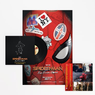 Spider-Man: Far From Home (OSC) Vinyl Record