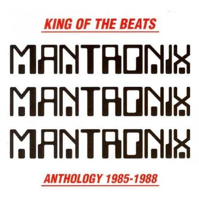 Mantronix King Of The Beats (Anthology 1985-1988) CD