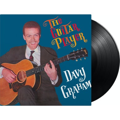 Davy Graham Guitar Player Vinyl Record
