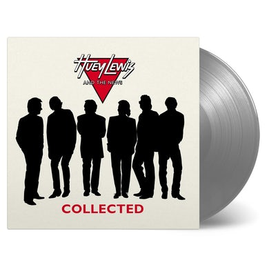 Huey Lewis & The News Collected Silver Vinyl Record