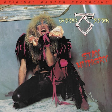 Twisted Sister Stay Hungry  180 Gram Audiophile Vinyl Vinyl Record