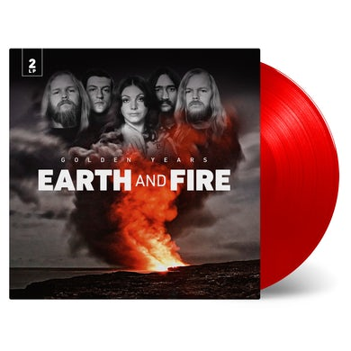 Earth & Fire Golden Years Transparent Red Vinyl Record