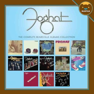 Foghat Complete Bearsville Albums Collection CD