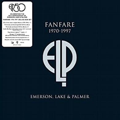 Fanfare:Emerson Lake & Palmer Sde  3 Lp/11 Cd/5 7 Inch/Br Vinyl Record