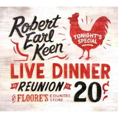 Robert Earl Keen Live Dinner Reunion CD