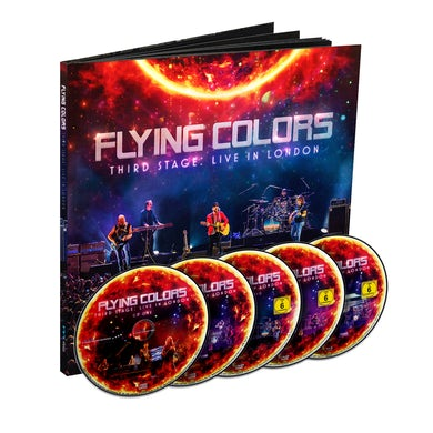 Flying Colors Third Stage: Live In London (Deluxe 5 Disc Photobook) CD