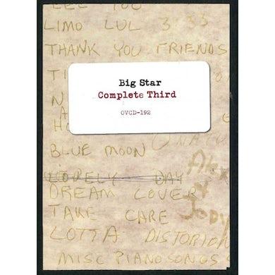 Big Star  Complete Third CD