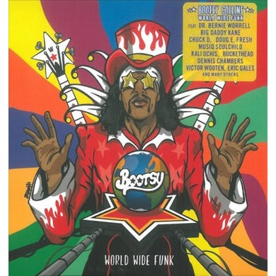 Bootsy Collins World Wide Funk CD