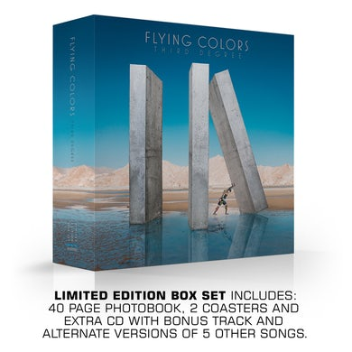 Flying Colors Third Degree (Limited Deluxe Edition) CD