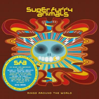 Super Furry Animals Rings Around the World (3CD 20th Anniversary Edition) CD