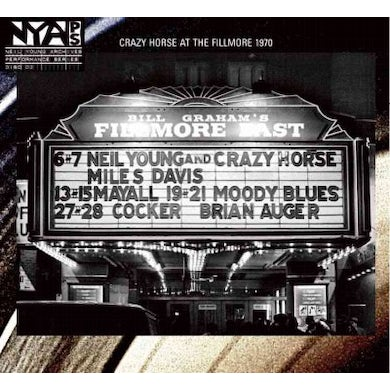 Neil Young & Crazy Horse Live at the Fillmore East [Digipak] CD