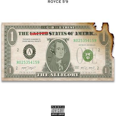 "Royce Da 5'9"" The Allegory CD"