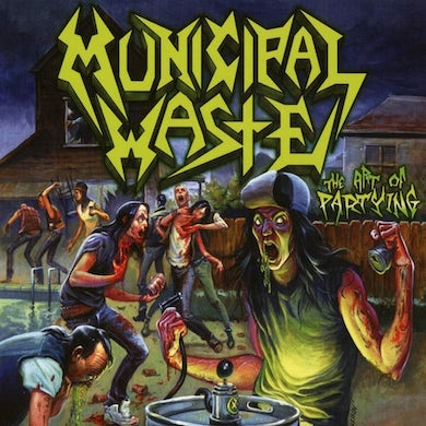 Municipal Waste Art of Partying CD
