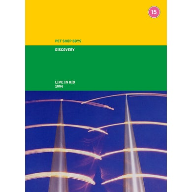 Pet Shop Boys DISCOVERY (LIVE IN RIO) (2CD/DVD) CD