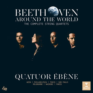Quatuor Ebene BEETHOVEN AROUND THE WORLD: THE COMPLETE STRING QU CD