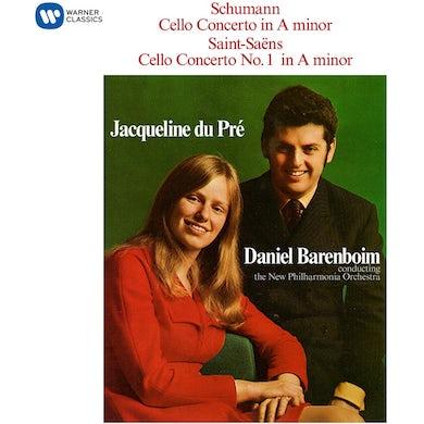 Jacqueline Du Pre Schumann: Cello Concerto/Saint-Saens: Cello Concerto No. 1 CD