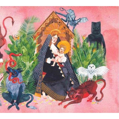 Father John Misty I Love You, Honeybear CD