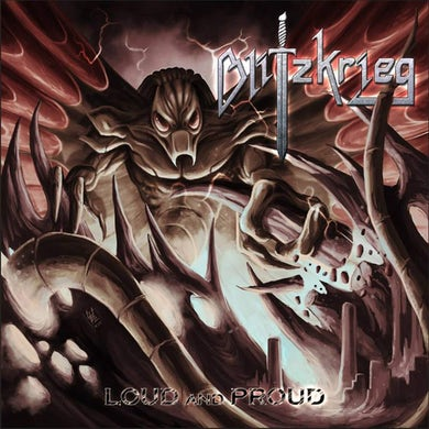 Blitzkrieg Loud and proud CD
