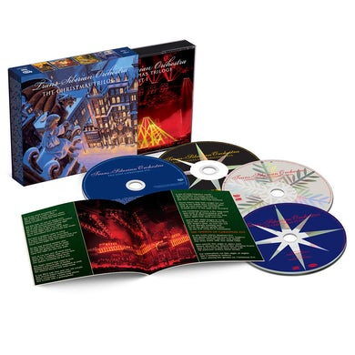 Trans-Siberian Orchestra CHRISTMAS TRILOGY CD