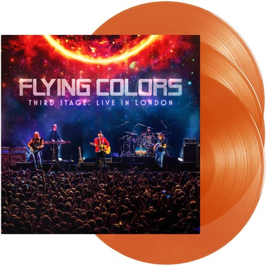 Flying Colors Third Stage: Live In London (Orange Vinyl) Vinyl Record