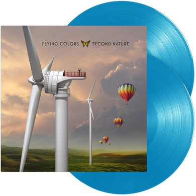 Flying Colors Secound Nature  Light Blue Vinyl Record