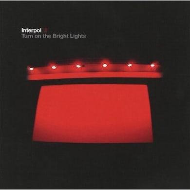 Interpol Turn on The Bright Lights Vinyl Record