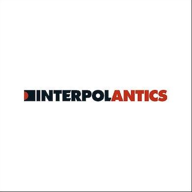 Interpol Antics (White) Vinyl Record