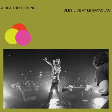 Beautiful Thing: IDLES Live at Le Bataclan (Neon Clear Lime Green) Vinyl Record