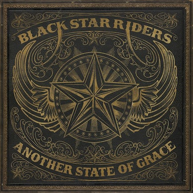 Black Star Riders Another State of Grace (Gold/Black) Vinyl Record