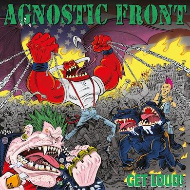 Agnostic Front Get loud! (red vinyl) Vinyl Record