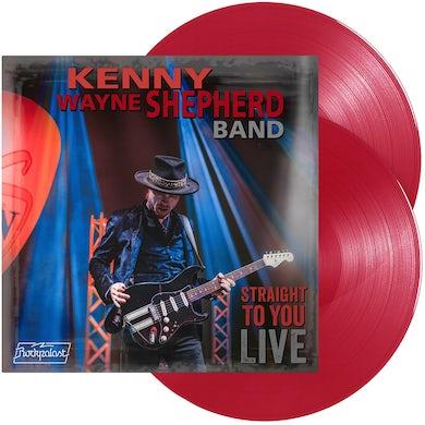 Kenny Wayne Shepherd Straight To You: Live   Red Vinyl Record