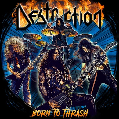 Born To Thrash (Live In Germany) Vinyl Record