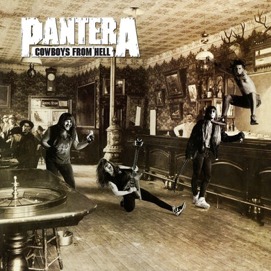 Pantera Cowboys From Hell  Ie  Marbled Brown Vinyl  Brick/Mortar Only Vinyl Record