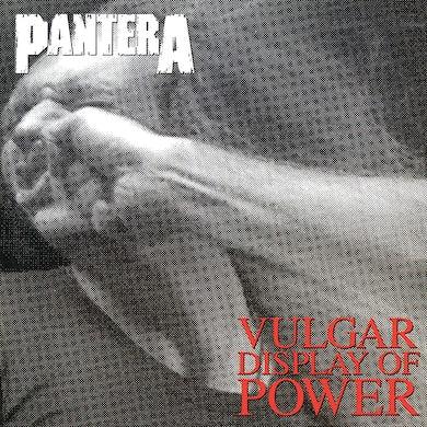 Pantera Vulgar Disply Of Power  Ie  Marbled Black/Grey Vinyl  Brick/Mortar Only Vinyl Record