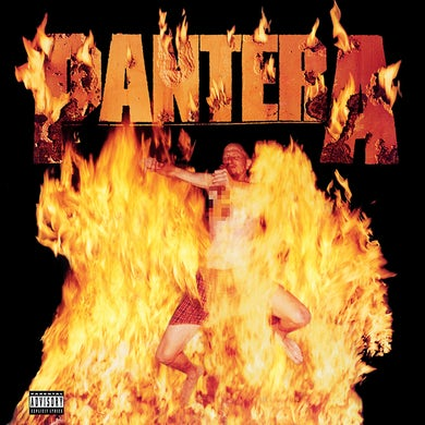 Pantera Reinventing The Steel  Ie  Marbled Yellow Vinyl  Brick/Mortar Only Vinyl Record