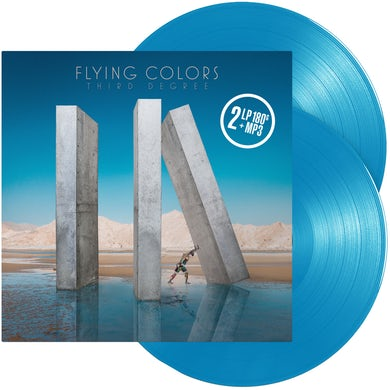 Flying Colors Third Degree (Limited Blue) Vinyl Record