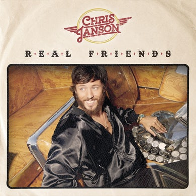 Chris Janson Real Friends Vinyl Record