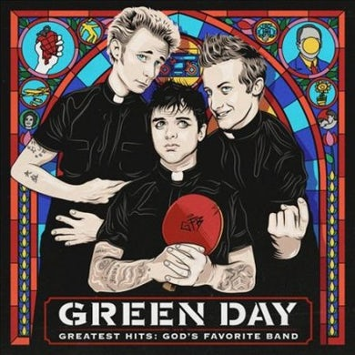 Green Day Greatest Hits: God's Favorite Band Vinyl Record