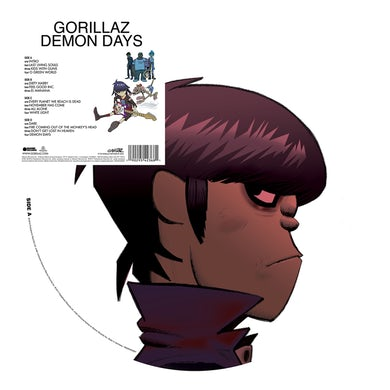 Gorillaz Demon Days Vinyl Record