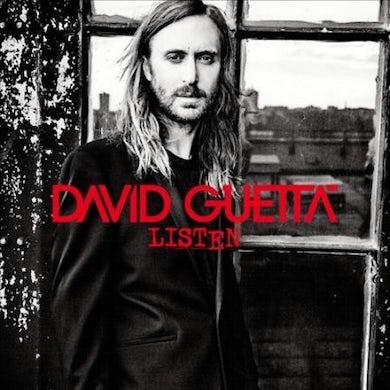 David Guetta Listen (Silver) Vinyl Record