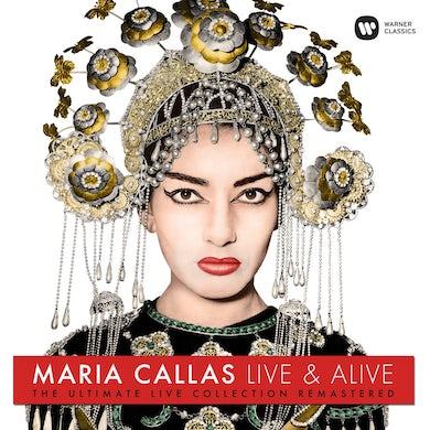 Maria Callas Live & Alive: The Ultimate Live Collection Vinyl Record